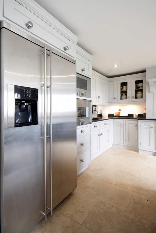 Appliances In Painted Kitchen