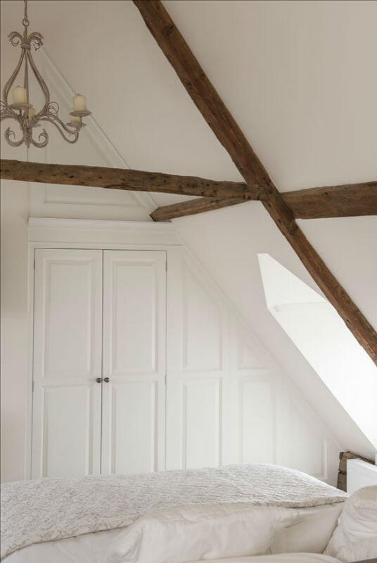 Bespoke Bedroom Furniture Around Beams