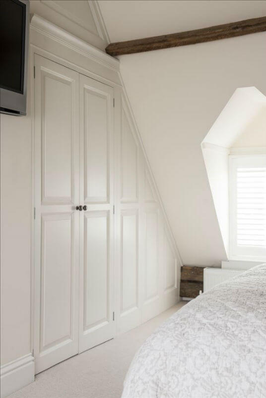 Bespoke Bedroom Furniture Under Eaves