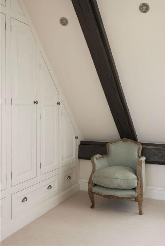 Bespoke Bedroom Furniture Under Sloping Eaves