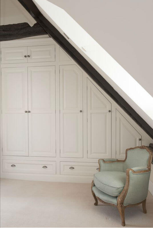 Bespoke Bedroom Furniture For Eaves and Beams